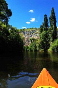 Kayak sur le Lot à Entraygues