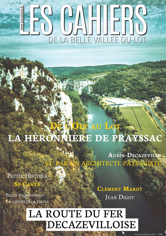 les cahiers de la belle vallee du Lot numero 9
